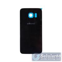Backdoor Samsung G925 S6 Edge Tutup Belakang Battery Back Door Case