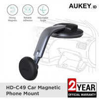 HOLDER HP MOBIL MAGNET AUKEY HD-C49 sampai 6.5 inch Smartphones