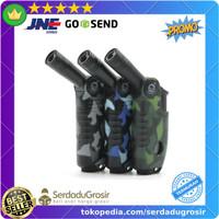 Korek Api Mancis Gas Butane Torch Jet Windproof BBQ Lighter Bakar Kue
