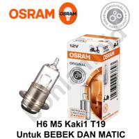 Lampu Motor Vario 125 Techno FI OSRAM ORIGINAL Bohlam H6 M5 T19