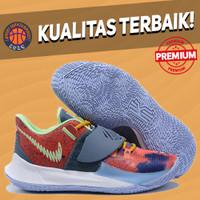 Sepatu Basket Sneakers Nike Kyrie Low 3 Harmony Blue Red Multicolor