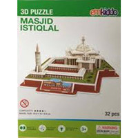 3D Puzzle Istiqlal