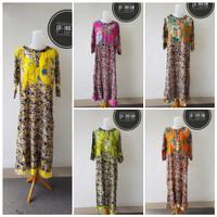 All Batik Daster Panjang Lengan Depan Busui Wanita Motif Size Baju Kan