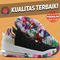 Sepatu Basket Sneakers Nike Lebron 18 James Gang Pria Wanita Import