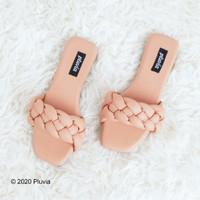 JZ Pluvia - DIVA Sandal Flat Wanita Kepang