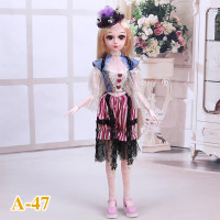 60cm girl gift Accessories BJD Doll Clothes 1/3 lovely Dolls Dress