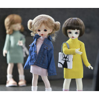 Gifts DIY BJD Doll Clothes 1/6 suitable for 28cm dolls Accessories