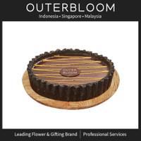 Kue Ulang Tahun - Outerbloom Chocolate Salted Caramel Tart