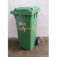 Tempat Sampah Roda / Tempat Sampah Dorong Green Leaf / GL 2012