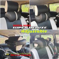 Bantal Leher Kepala Kulit MBTECH Jok Kursi Mobil Datsun GO Premium
