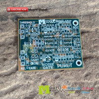 PCB Noise Gate Anti Feedback destroyer Microphone Aksesoris 052M PUR