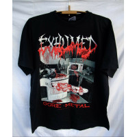 shirt vtg EXHUMED GORE METAL 90s Carcass Repulsion Napalm Death Nile