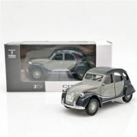 Norev Miniatur Diecast Mobil Citroen 2cv Skala 1: 64 Untuk Koleksi