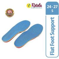 FLAT FOOT/ MEDIAL ARC SUPPORT/ INSOLE SEPATU ANAK FLAT FOOT, S 24-27