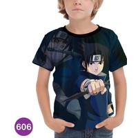 Kaos Naruto Anak Baju Sasuke Uchiha Itachi Murah Meriah #606