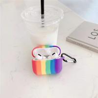 Case Untuk s 1 2 Pro Rainbow Pattern Cover Trendy Earphone Case