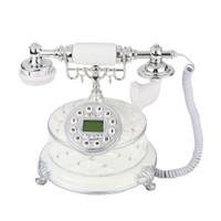 Telepon Headset Putar Dial Gaya Vintage Antik Retro Untuk
