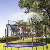 Trampolin Sprinkler Air Pendingin Untuk Mainan Anak Dewasa Outdoor