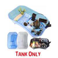 Turtle Tank M 40x24x13cm Vivarium Aquarium Wadah Kura NX11M