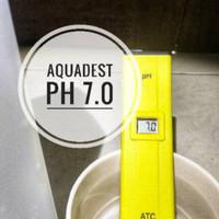 Akuades Aquadest Aquades Aqua Destilata 5 Liter Air Suling H20 Non