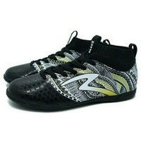 Promo Sepatu Futsal Specs Heritage IN (Black/Gold/White) Murah