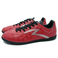 Promo Sepatu Futsal Specs Quark IN (chestnut Red/Black/Silver) Murah