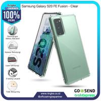 Ringke Samsung Galaxy S20 FE Fusion Clear Softcase Anti Crack Hybrid