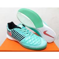 Sepatu Futsal - Nike Lunar Gato II Green Glow Pink Foil QQXS