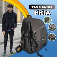 Tas Ransel Punggung Kanvas Pria Tas Ransel Besar Pria Backpack Pria