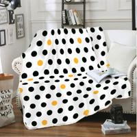 Selimut Flannel 160 x 200 Albany Kintakun Polyester Putih Anti Alergi
