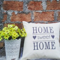 home sweet home / bantal sofa / cushion /bantal custom /Tumblr /kado