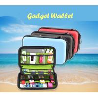 Gadget Wallet Tempat Simpan Power Bank Charger Gadget Kabel Flashdisk