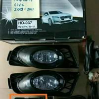 Unik Fog Lamp Foglamp Honda Civic 2009-2010-2011 Diskon