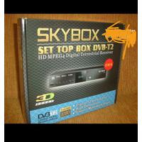 TV DIGITAL set top box skybox H1 pakai antena UHF biasa