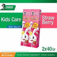 Twin Pack Darlie Bunny Kids Strawberry Pasta Gigi 40 g