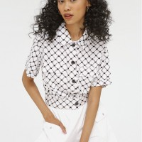 Colorbox All Over Print Shirt I-Bswfct120F003 White