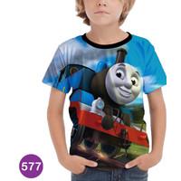 Baju Thomas Lokomotif Kaos Thomas and Friends Series Anak #577