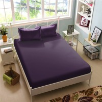 Sprei Purple Pennant Kintakun Luxury Microfiber (5in1) 30 cm-180 x 200