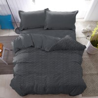 Bed Cover Only Iron Gate Kintakun Luxury Microfiber 230 x 217 cm