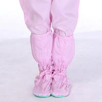 Sepatu Boots High Top Bawah Lembut Anti Slip Bahan PVC untuk Wanita