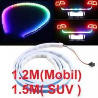 Lampu Bagasi Belakang Rem Sein Mobil LED RGB 150 Cm Datsun GO