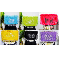 Sarung Furnitur -) Bando TV Shabby Chic Quotes 25-32 inch LED / LCD 5