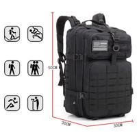 Tas Ransel Pria 50L Tas Pakaian Backpack Tas Laptop Tas Tactical Tas