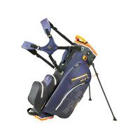 Big Max Aqua Hybrid 2 Stand Bag - Steel Blue/Black/Orange