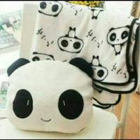 HFN Balmut Bantal selimut Panda import