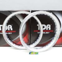 Velg Set TDR Racing U Shape Silver Ring 17 185 Dan 215