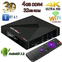 Android Tv Box A5x Max plus OS 7.1 Antena Kekinian parts