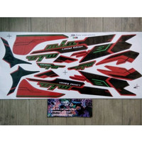 Lis Striping Sticker Mio Sporty Limited Edition Merah