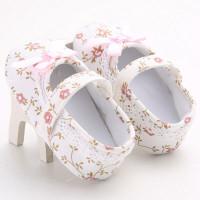 Sepatu Balet Mary Jane Bayi Laki-laki / Perempuan Anti Slip dengan