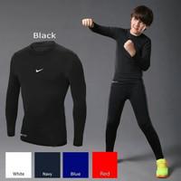 Manset Baselayer Anak Kecil Kids Kaos Baju Ketat Olahraga Futsal Bola